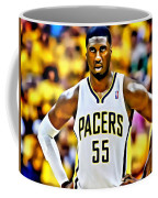 Roy Hibbert Coffee Mug by Florian Rodarte