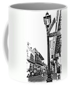 Royal Afternoon Monochrome Coffee Mug