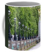 Royal Air Force Memorial By The River Thames 5801 Coffee Mug