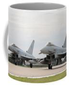 Royal Air Force Typhoon Aircraft  Coffee Mug