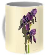 Royal Purple Iris Still Life Coffee Mug