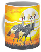 Royal Cranes From Rwanda Coffee Mug
