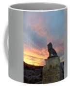 Royal Loin Statue Coffee Mug