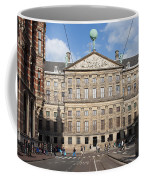 Royal Palace From Raadhuisstraat Street In Amsterdam Coffee Mug