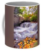 Royal River White Waterfall Coffee Mug