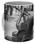 Royal Street Clarinet Player New Orleans Coffee Mug