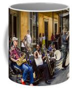 Royal Street Jazz Musicians Coffee Mug