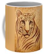 Royal Tiger Coffee Painting Coffee Mug