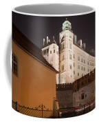 Royal Wawel Castle By Night In Krakow Coffee Mug