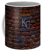 Royals Baseball Graffiti On Brick  Coffee Mug by Movie Poster Prints