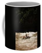 Rubber Raft Running Rapids Coffee Mug