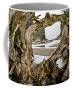 Ruby Beach Driftwood #3 Coffee Mug