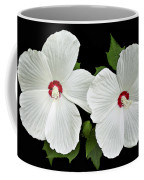 Ruby Dot Hibiscus Coffee Mug