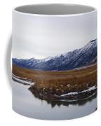 Ruby Marsh In Winter Coffee Mug