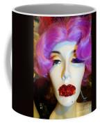 Ruby Red Lips Coffee Mug