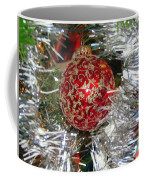 Ruby Red Ornament Coffee Mug