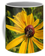 Rudbeckia Bee Coffee Mug