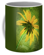 Rudbeckia On Cement Coffee Mug