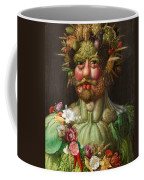 Rudolf II Of Habsburg As Vertumnus Coffee Mug