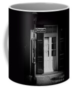 Rue Dauphine French Quarter New Orleans-monochrome Coffee Mug