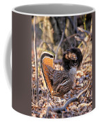 Ruffed Grouse Ruffed Up Coffee Mug