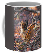 Ruffed Grouse Side Strut Coffee Mug
