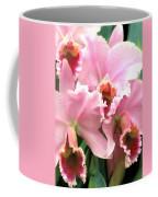 Ruffles And Flourishes Cattleya Orchids Coffee Mug