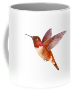 Rufous Hummingbird Coffee Mug by Amy Kirkpatrick