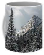 Rugged Mountain Peak With Snow Coffee Mug