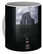 Ruin Of Castle Coffee Mug by Joana Kruse