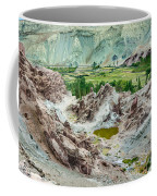 Ruins At Basgo Monastery Ladakh India Coffee Mug