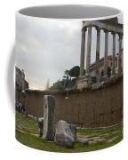 Ruins In The Roman Forum Rome Italy Coffee Mug
