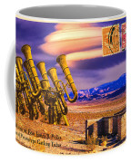 Ruins Of Fort James B. Polka And Prototype Gatling Tubas Coffee Mug