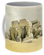 Ruins Of The Temple Of Kom Ombo Coffee Mug by David Roberts
