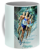 Run For Gold Coffee Mug