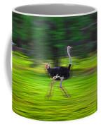 Run Ostrich Coffee Mug