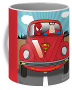 Running Away  Coffee Mug