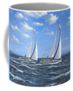 Running Close Hauled Coffee Mug