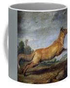 Running Fox Coffee Mug