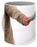 Running Hand-in-hand Coffee Mug