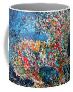 Running Stallion - Oil Portrait Coffee Mug