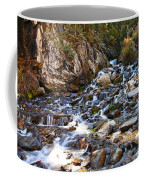 Running Through The Rocks Coffee Mug