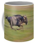 Running Wildebeest IIi Coffee Mug