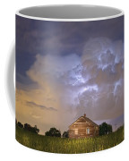Rural Country Cabin Lightning Storm Coffee Mug by James BO  Insogna