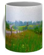 Rural Highway In Oil Paint Coffee Mug