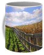 Rural Landscape With Fence Coffee Mug
