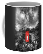 Rural Post Box Coffee Mug by Mal Bray