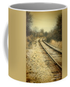 Rural Railroad Tracks Coffee Mug