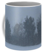 Rural Snowfall Coffee Mug