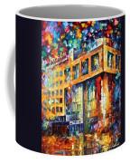Rusbank Moscow Coffee Mug